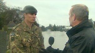 Corporal James Jones of the RAF