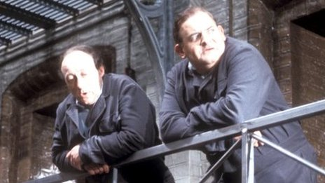 Ken Jones and Ronnie Barker in Porridge