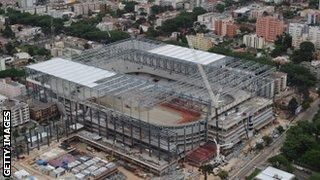 The Arena da Baixada in Curitiba, Brazil