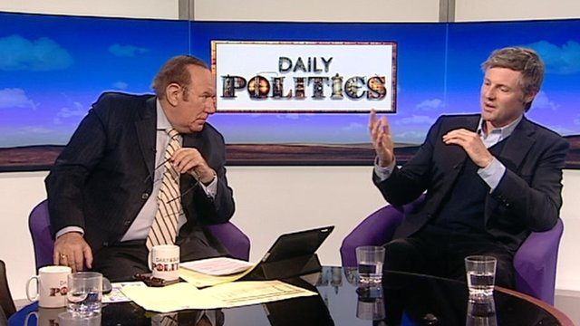 Andrew Neil and Zac Goldsmith
