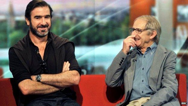 Eric Cantona and Ken Loach