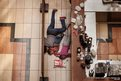 People shelter in the Westgate shopping centre in Nairobi, Kenya