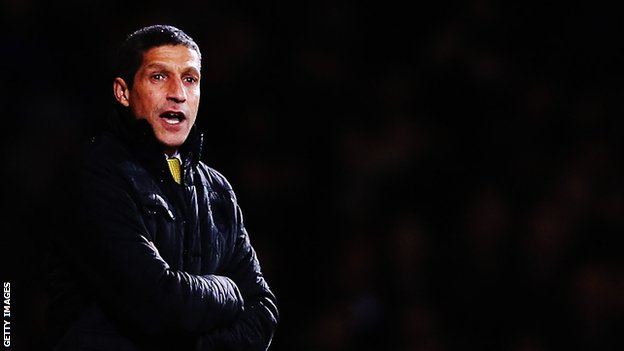 Norwich City boss Chris Hughton
