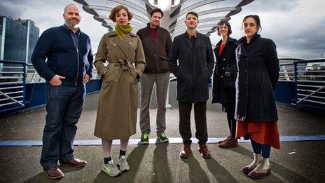 Artists Kate Davis, Kathryn Elkin, Luke Fowler, Torsten Lauschmann, Alia Sayed and Stephen Sutcliffe