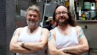 Hairy bikers Simon King and David Myers
