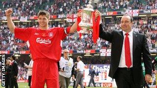 Liverpool win 2006 FA Cup final