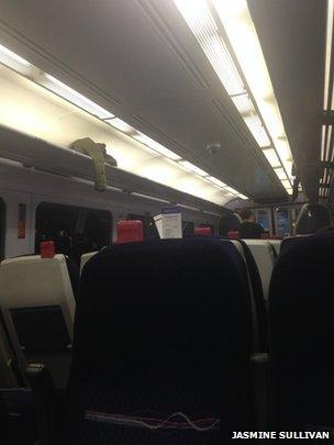 Train carriage. Pic: Jasmine Sullivan.