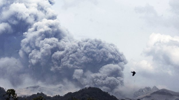 Mount Kelud (14 February 2014)