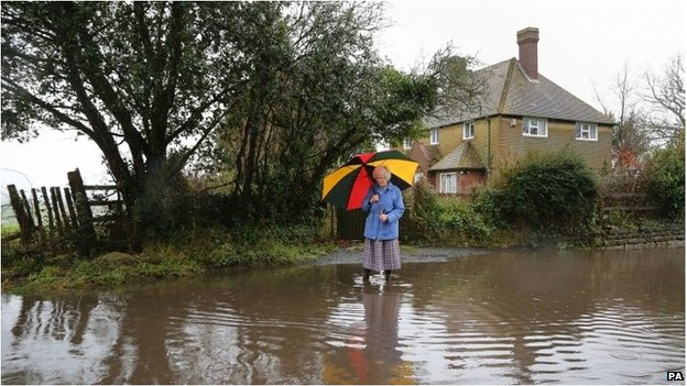 UK storms: South East facing further disruption