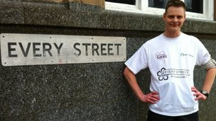 Duncan Clarke on Every Street in Leicester