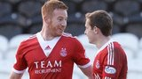 Adam Rooney and Peter Pawlett