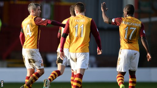 Keith Lasley equalised for Motherwell