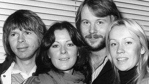 Abba in 1977