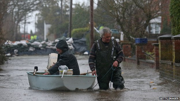The Somerset Levels have been flooded for weeks and have two severe flood warnings in place