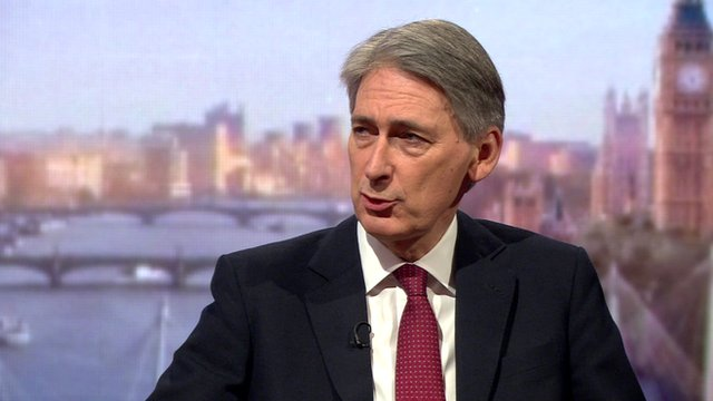 Hammond says no 'either or' choice on flood budget
