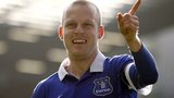 Everton forward Steven Naismith