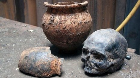 Archaeological finds