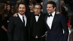 Christian Bale, David Russell and Bradley Cooper