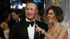 Tom Hanks and Rita Wilson arrive on the red carpet