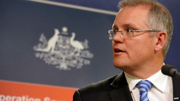 File photo: Australian Minister for Immigration and Border Protection Scott Morrison
