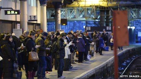 passengers at Glasgow