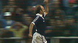 Archie Gemmill scores against Netherlands