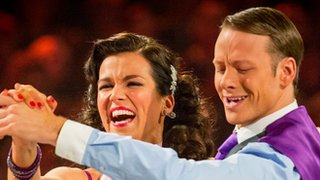 Susanna Reid and Kevin Clifton from Grimsby