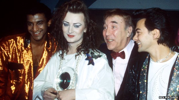Culture Club and Frankie Howerd
