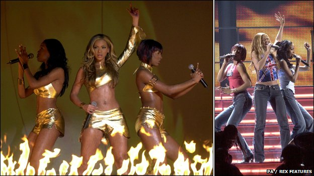 Destiny's Child at the Brit Awards