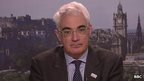 former Labour Chancellor, Alistair Darling, head of the anti-independence 'Better Together' campaign