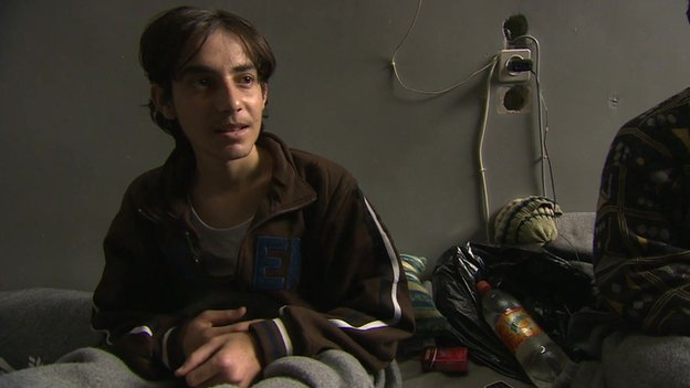 14-year-old orphan in Homs