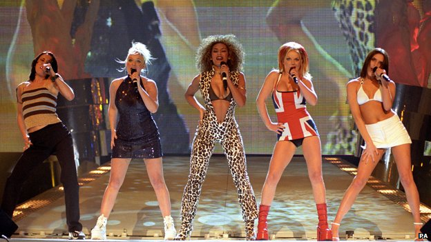 Spice Girls at the 1997 Brit Awards