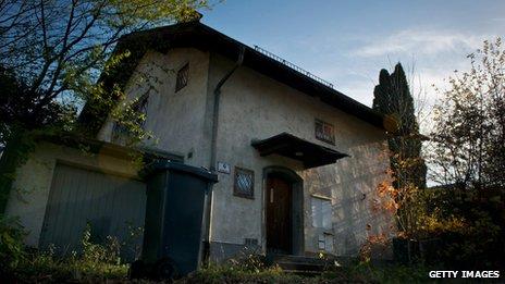 Gurlitt's Austrian house