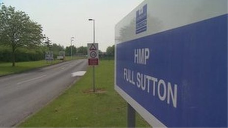 Full Sutton prison entrance