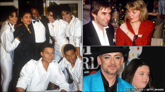 Five Star, Chris De Burgh and Boy George