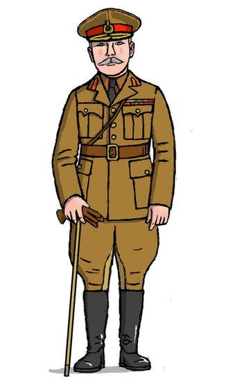 Sir Douglas Haig in his officer uniform
