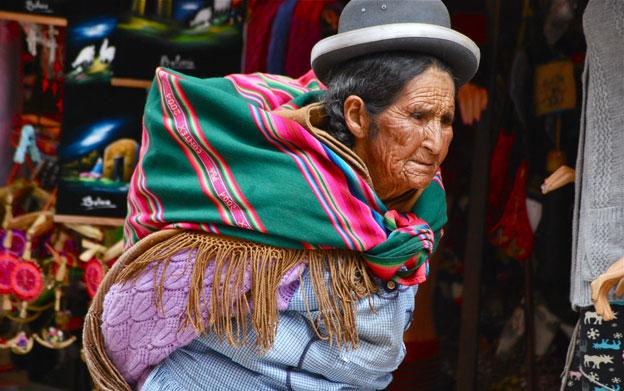 Woman in La Paz