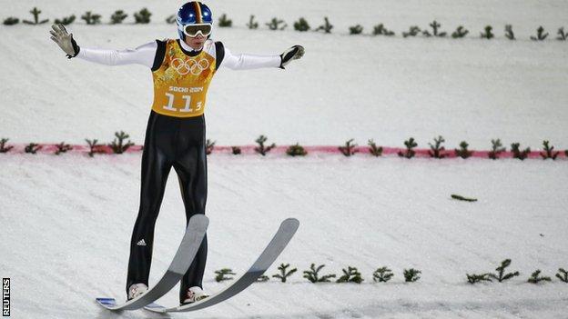 Sochi 2014 - ski jumping
