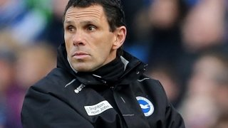 Gus Poyet at Brighton