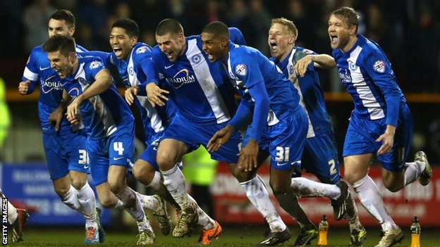 Peterborough celebrate