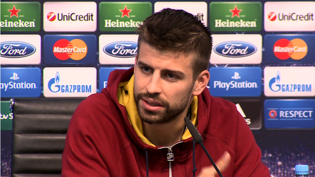 Spanish international Gerard Pique