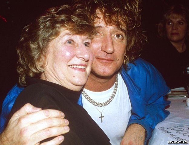 Rod Stewart and his sister Mary