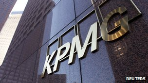 KPMG office logo