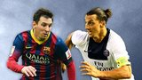 Lionel Messi, Zlatan Ibrahimovic