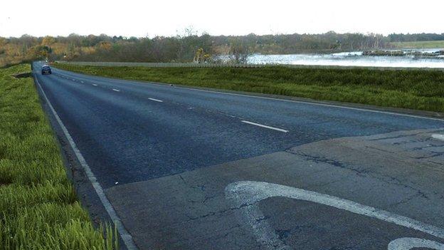 A12, Blythburgh