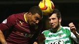 Action from Yeovil's 0-0 draw with Watford at Huish Park