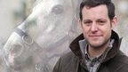 Matt Baker and a horse