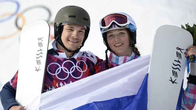 Vic Wild and Alena Zavarzina of Russia