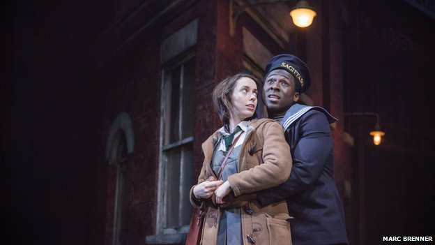 Kate O'Flynn and Eric Kofi Abrefa in A Taste of Honey