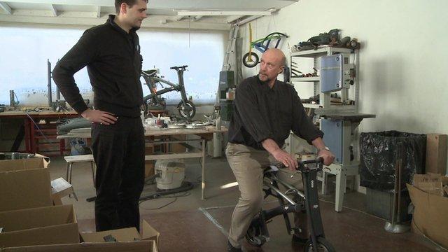 Stigo make lightweight scooters
